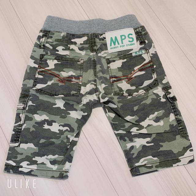 MPS(エムピーエス)のMPS100 ハーフパンツ 男の子 キッズ/ベビー/マタニティのキッズ服男の子用(90cm~)(パンツ/スパッツ)の商品写真