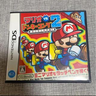 ニンテンドーDS(ニンテンドーDS)の「マリオ VS.ドンキーコング 2 ミニミニ大行進!」(家庭用ゲームソフト)