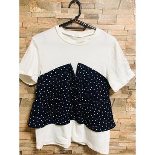 ジーユー(GU)のレディース トップス(Tシャツ(半袖/袖なし))