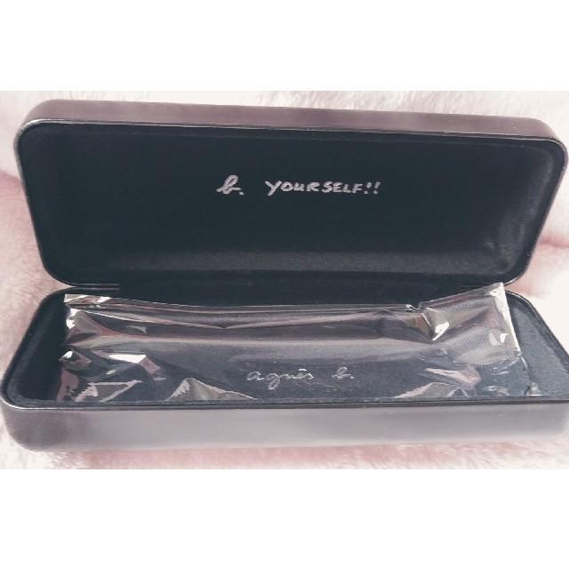 agnes b.(アニエスベー)のagnes b. アニエス メガネ ケースのみ レディースのファッション小物(サングラス/メガネ)の商品写真