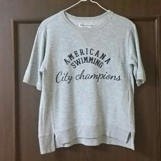 アメリカーナ(AMERICANA)のアメリカーナ 半袖スエット(Tシャツ(半袖/袖なし))