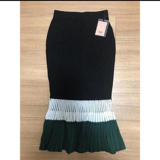 eimy istoire - eimyistoire カラーコンビタイトスカート