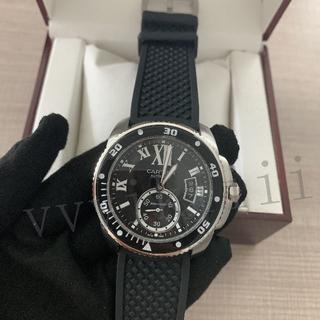 Cartier - メンズ 腕時計 黒文字盤 W7100052