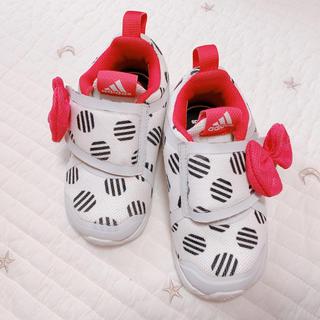 adidas - adidas×ミニー♡14cmスニーカー