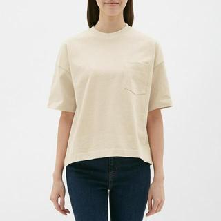 ジーユー(GU)のGU 2019SS ヘビーウェイトTシャツ レディースS 未使用新品(Tシャツ(半袖/袖なし))