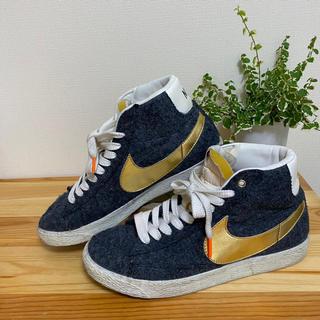 ナイキ(NIKE)のBeams Nike Blazer mid 25cm(スニーカー)