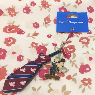 ディズニー(Disney)の【新品】ディズニー ストラップ(ストラップ/イヤホンジャック)