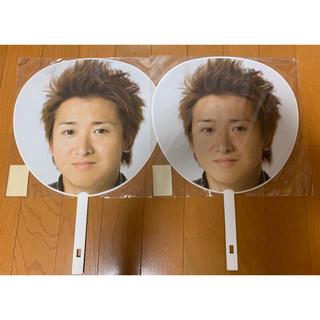 アラシ(嵐)の嵐 カウコン 2007-2008 ジャンボうちわ(アイドルグッズ)