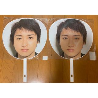 アラシ(嵐)の嵐 大野智 ジャンボうちわ ARASHIC 2006(アイドルグッズ)