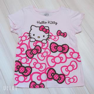 ユニクロ(UNIQLO)のユニクロ110 キティちゃんTシャツ(Tシャツ/カットソー)