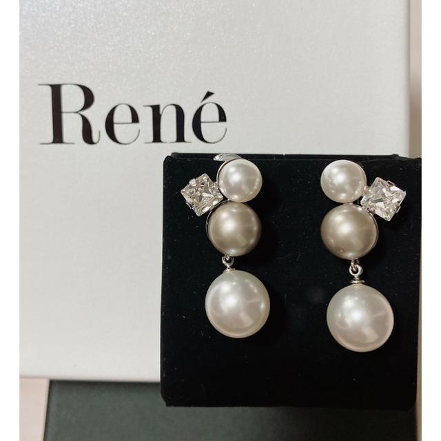 René(ルネ)のルネ rene イヤリング パール 新品未使用 レディースのアクセサリー(イヤリング)の商品写真