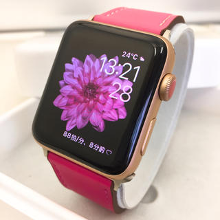 Apple Watch - Apple Watch series3 Gold アップルウォッチ 42mm