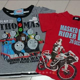 トーマス 仮面ライダーV3 Tシャツ 90(Tシャツ/カットソー)