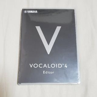 ヤマハ(ヤマハ)の未開封未使用 vocaloid4 editor(DAWソフトウェア)