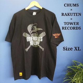 CHUMS - チャムス 楽天 タワーレーコード コラボ Tシャツ FJ029