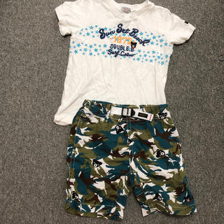 DOUBLE.B - Tシャツ 短パン ハーフパンツ