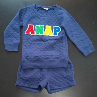 アナップキッズ(ANAP Kids)の女の子子供服110cm★ANAPセットアップ(Tシャツ/カットソー)
