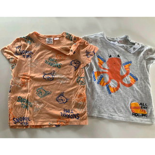 ザラキッズ(ZARA KIDS)の専用 ZARA Tシャツ 90 95 100 (Tシャツ/カットソー)