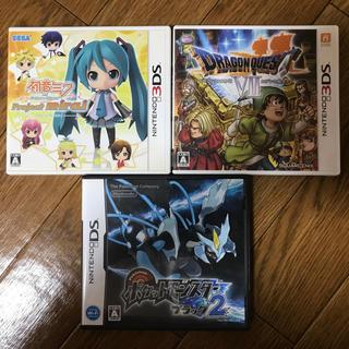 任天堂 - ニンテンドー3DS&DSソフト 3本セット♪