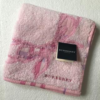 BURBERRY - ⭐️新品⭐️バーバリー タオルハンカチ リボン柄
