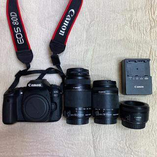 キヤノン(Canon)のCanon EOS80d(デジタル一眼)