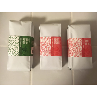 台湾名物  飄逸茶 3点セット(茶)