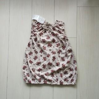 ニシマツヤ(西松屋)のノースリーブ 100cm(Tシャツ/カットソー)