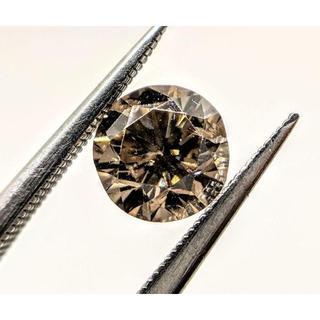 大人な魅力…✨1.106ctダイヤモンド…✨柔らかい煌めき…✨シャンパンブラウン(リング(指輪))