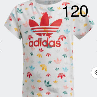 アディダス(adidas)の新品!人気柄♡アディダスキッズ☆Tシャツ120cm(Tシャツ/カットソー)