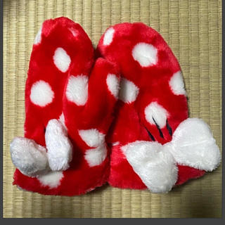 ディズニー(Disney)の美品 ミニー手袋(手袋)
