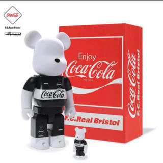 MEDICOM TOY - BE@RBRICK F.C.Real Bristol × COCA-COLA