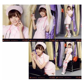 ノギザカフォーティーシックス(乃木坂46)の白石麻衣 2015 ハロウィン Halloween 5枚コンプ(アイドルグッズ)