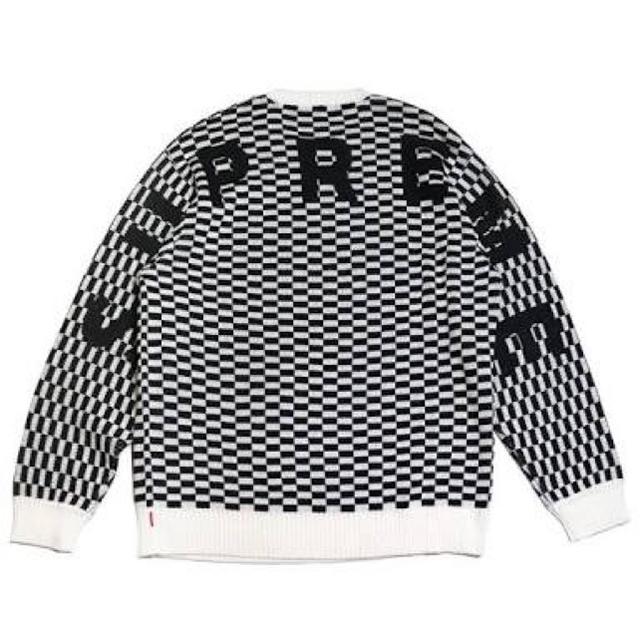 Supreme(シュプリーム)の即完売☆Supreme Back Logo Sweater シュプリームMサイズ メンズのトップス(ニット/セーター)の商品写真