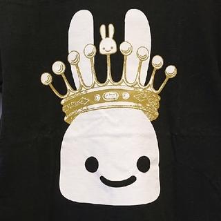 キューン(CUNE)のメンズ キューン 王冠うさぎ Tシャツ Sサイズ ブラック CUNE(Tシャツ/カットソー(半袖/袖なし))