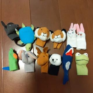 イケア(IKEA)のイケア 指人形(ぬいぐるみ/人形)