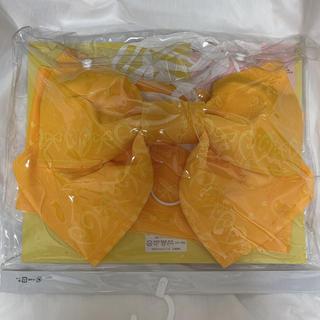 浴衣 帯 つくり帯 黄色 イエロー リボン(浴衣帯)