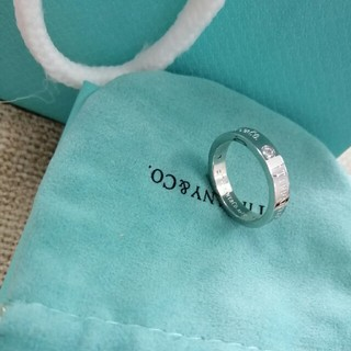 ティファニー(Tiffany & Co.)の良品!Tiffany リング(指輪)シルバー刻印あり(リング(指輪))