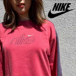 ナイキ(NIKE)の90s Nike ナイキ トレーナー スウェット ロゴ(トレーナー/スウェット)