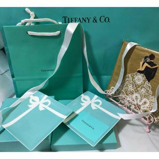 Tiffany & Co. - ティファニー デザートプレート(14×14)2枚セット(贈り物用)