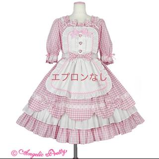 アンジェリックプリティー(Angelic Pretty)のHeart CafeワンピースSet(ひざ丈ワンピース)