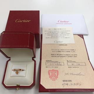 Cartier - Cartier モナムール K18 リング(49 8.5号)