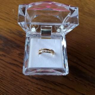 フェスタリア K18 YG ダイヤリング(リング(指輪))