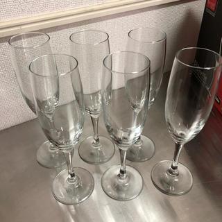 ボルミオリロッコ(Bormioli Rocco)のBormioli Rocco シャンパングラス 6本セット(グラス/カップ)