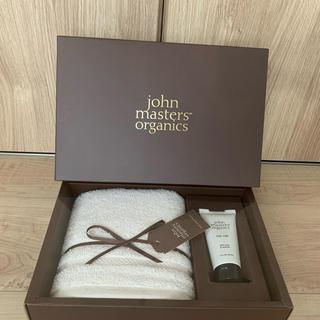 ジョンマスターオーガニック(John Masters Organics)の【新品】john masters organics ギフトセット(タオル/バス用品)