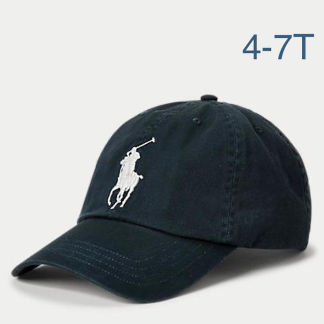 POLO RALPH LAUREN(ポロラルフローレン)の新品 Ralph Lauren ビッグポニー ベースボール キャップ キッズ/ベビー/マタニティのこども用ファッション小物(帽子)の商品写真