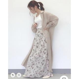 アンティローザ(Auntie Rosa)のアソートフラワーマーメイドスカート(ロングスカート)