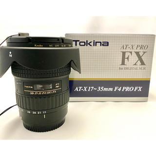 ケンコー(Kenko)のケンコートキナー AT-X 17-35 F4 PRO FX キャノンEFマウント(レンズ(ズーム))