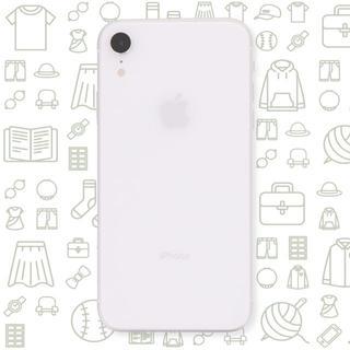 アイフォーン(iPhone)の【B】iPhoneXR/64/SIMフリー(スマートフォン本体)