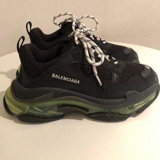 Balenciaga - BALENCIAGA TRIPLE S クリア スニーカー