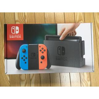 ニンテンドースイッチ(Nintendo Switch)のNintendo Switch ネオンブルー(家庭用ゲーム機本体)